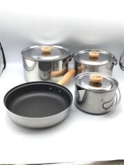 170-5002 STAINLESS COOKWARE SET M/クッカーセット/170-5002/鍋/ステンレス
