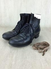 Army Last Mid Cut Dress/レースアップブーツ/US6/BLK/レザー