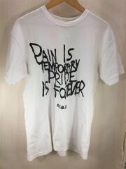 17SS/GRAFFITI MESSAGE TEE/FCRB-170042/Tシャツ/M/コットン/WHT