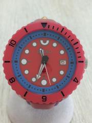 自動巻腕時計・スピリット スマート・レザー/アナログ/RED