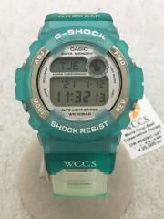 クォーツ腕時計・G-SHOCK/デジタル/ラバー/GRN/GRN