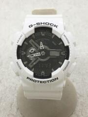クォーツ腕時計・G-SHOCK/デジアナ/WHT/5146