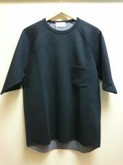 Double Face T-Shirts/ダブルフェイスTシャツ/3/コットン/NVY/DT06016