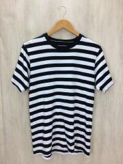 Tシャツ/S/コットン/BLK/ボーダー/bar stripe tee/2017ss