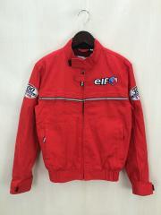 RED BARON/ELF/300店舗記念/ライディングジャケット/L/コットン/RED