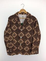 Pen Jacket - Printed Flannel/Batik/ペンジャケット/S/ベージュ/GL834
