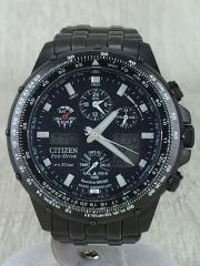 u600-t011560/クォーツ腕時計/アナログ/BLK