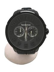クォーツ腕時計/アナログ/ラバー/GULLIVER ROUND/クロノグラフ/TG460010/ウォッチ