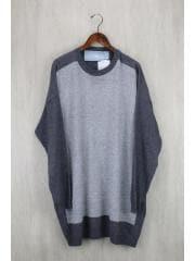 16AW/セーター(薄手)/FREE/ウール/GRY