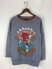 セーター(薄手)/FREE/アクリル/GRY