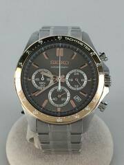 スピリットクロノグラフ/8T63-00D0/クォーツ腕時計/アナログ/ステンレス/GRY/SLV