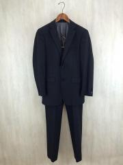 スーツ/38/ウール/BLK