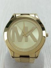 クォーツ腕時計/アナログ/GLD/GLD