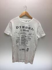 T-DIEGO-FZ Tシャツ/L/コットン/WHT/0091B