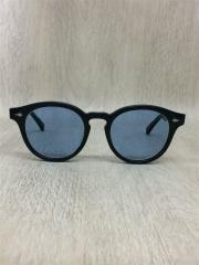 金子眼鏡 別注/Lennon BOSTON GLASSES/サングラス/ボストン/BLK/BLU
