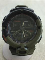 CHARI&CO/GA-500K/クォーツ腕時計/デジアナ/ラバー/マルチカラー/マルチカラー