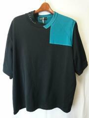 クリアコットンS/S Tee/切替Tシャツ/Tシャツ/2/コットン/21SCM-T04203/カラー