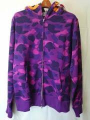 Purple camouflage Tiger Full Zip/001ZPG301006X/アベイシングエイプ