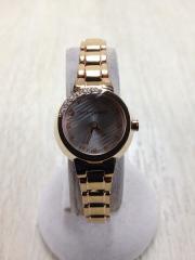 クォーツ腕時計/アナログ/ステンレス/SLV/GLD/5930-002787-02/レディース