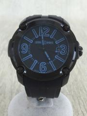 STEEL CRAFT/腕時計/アナログ/--/BLK/BLK