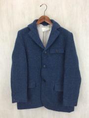 テーラードジャケット/3/ツイード/BLU