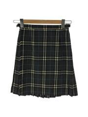 スカート/26/ウール/GRY/グレンCK/FXF43-851