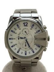 クォーツ腕時計/アナログ/チタン/WHT/SLV