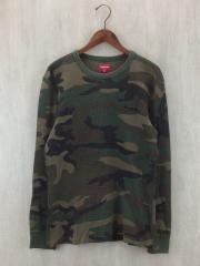 長袖Tシャツ/M/コットン/GRN