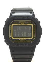 ソーラー腕時計/デジタル/ラバー/BLK/BLK/DW-5600VT/カシオ