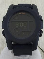 クォーツ腕時計/デジタル/BLK/BLK/ニクソン/ユニット