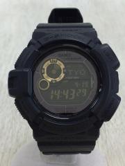 マッドマン/ソーラー腕時計/タフソーラー/マルチバンド/デジタル/BLK/BLK