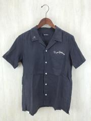 チェーンステッチボーリングシャツ/3/コットン/GRY