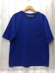 THE NORTH FACE/Tシャツ/L/ポリエステル/BLU/無地/NT31865