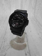 G-SHOCK/ジーショック/クォーツ腕時計/デジアナ/ラバー/BLK