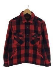 ジャケット/M/ウール/RED/チェック/Work Check C.P.O Jacket/2013年モデル