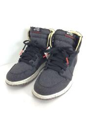 ハイカットスニーカー/26cm/BLK/Jordan 1 Retro High Zoom Crater/CW2414-0