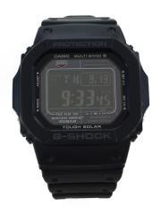 クォーツ腕時計・G-SHOCK/デジタル/ラバー/BLK