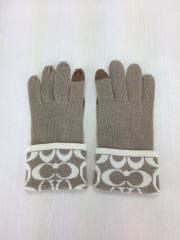 手袋/ウール/BEG