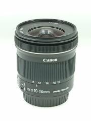 レンズ EF-S10-18mm F4.5-5.6 IS STM