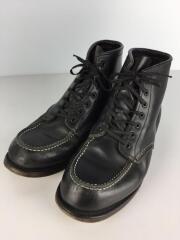 ブーツ/US8/BLK/100th記念モデル/ソール減り有/ベックマン