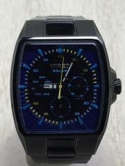 ソーラー腕時計/アナログ/BLU