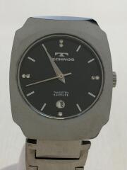 腕時計/アナログ/--/BLK/T-1058