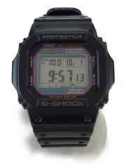 カシオ/CASIO/ソーラー腕時計/デジタル/ラバー/BLK/BLK/中古