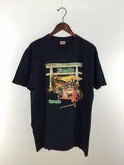 Tシャツ/XL/コットン/NVY/16SS/×Barrington Levy/Shaolin Temple Tee