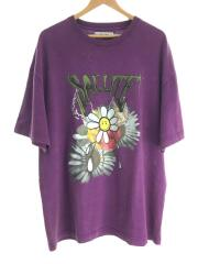 Washed Flower Vintage S/S Tee(ウォッシュ加工フラワープリントTシャツ)/PUP