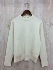 セーター(厚手)/M/ウール/BEG