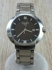 TISSOT 1853/クォーツ腕時計/S460/シルバー