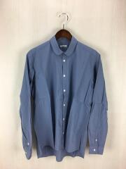 サージョンシャツ/16-045/長袖シャツ/M/コットン/BLU