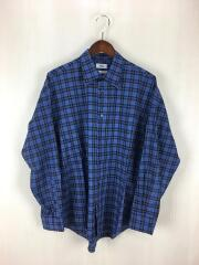 Standard shirt B/AH18W-SH03/長袖シャツ/2/コットン/BLU/チェック