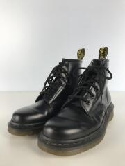 ブーツ/UK5/BLK/レザー/6ホールブーツ
